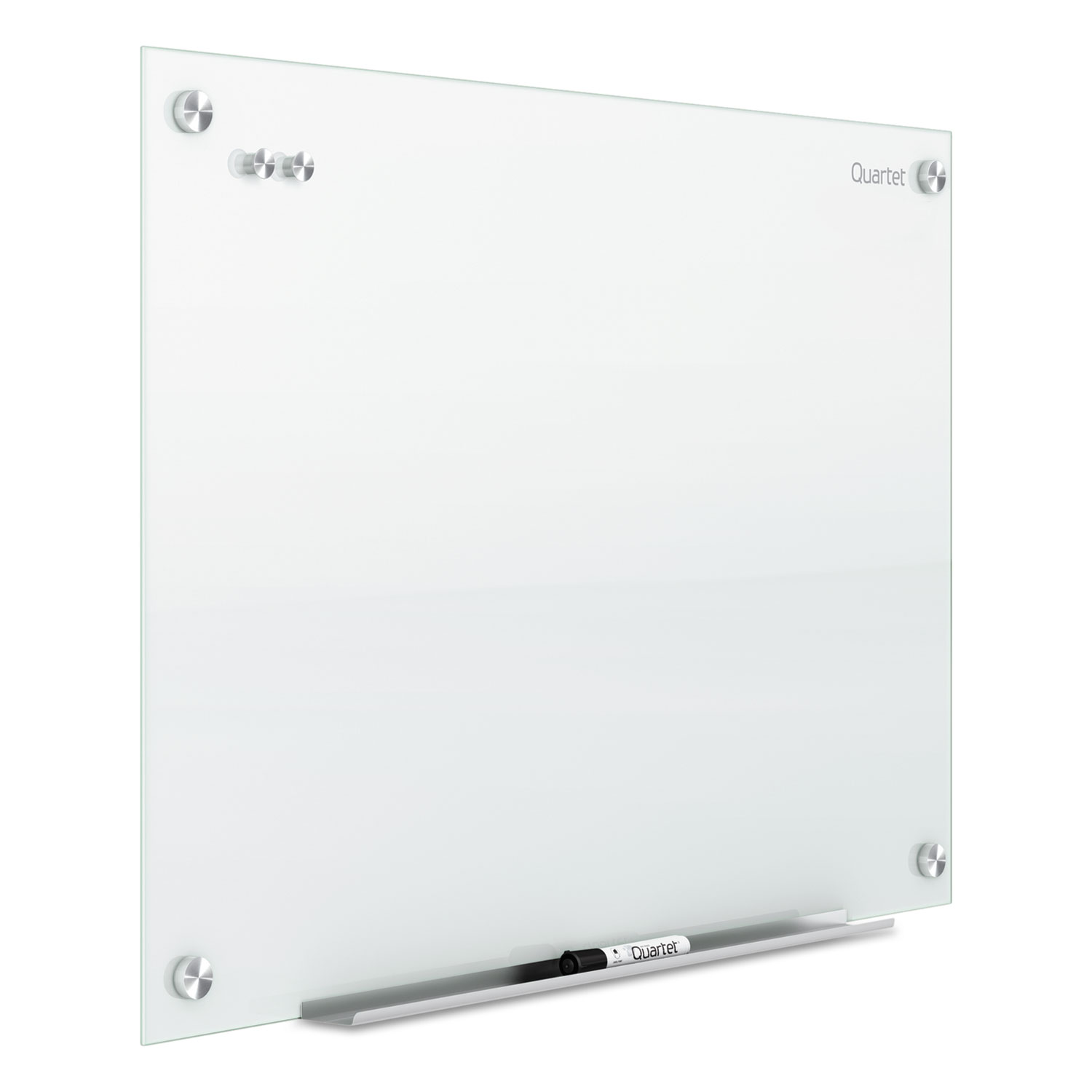 Infinity Magnetic Glass Marker Board 48 X 36 White