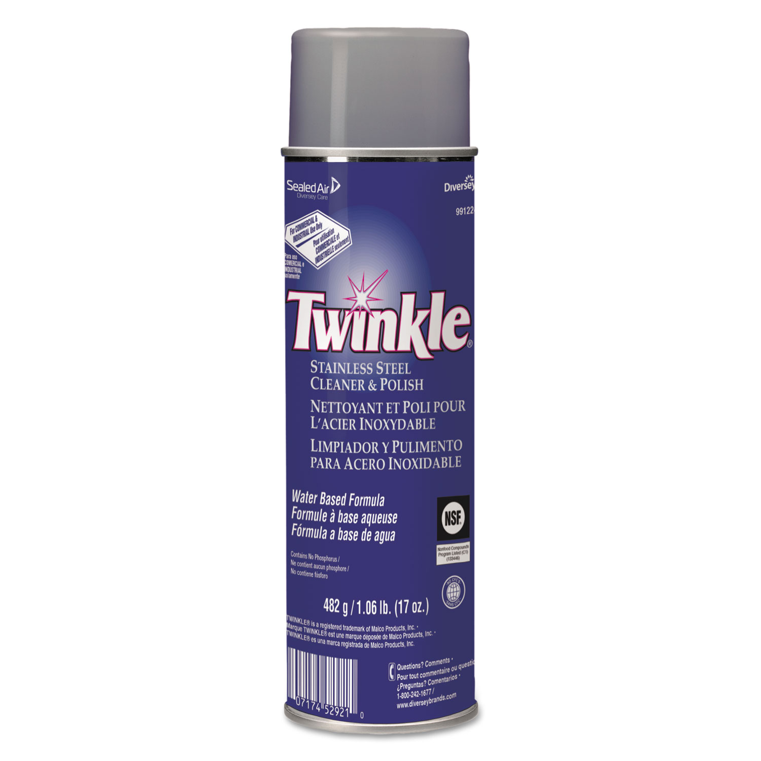 Stainless Steel Cleaner Amp Polish By Twinkle 174 Dvo991224ea