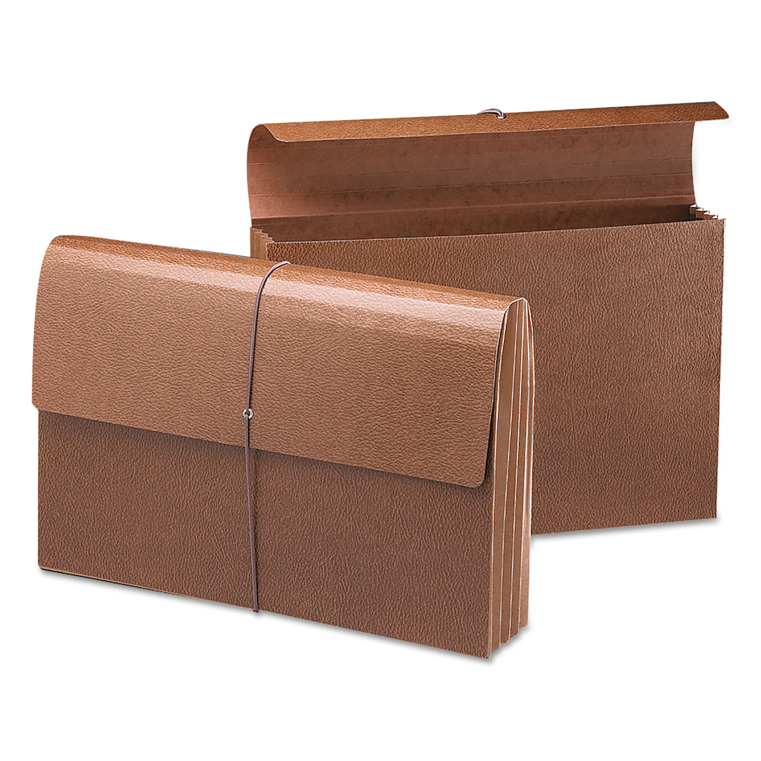 """Classic Expanding Wallets, 3.5"""" Expansion, 1 Section, Legal Size, Redrope"""