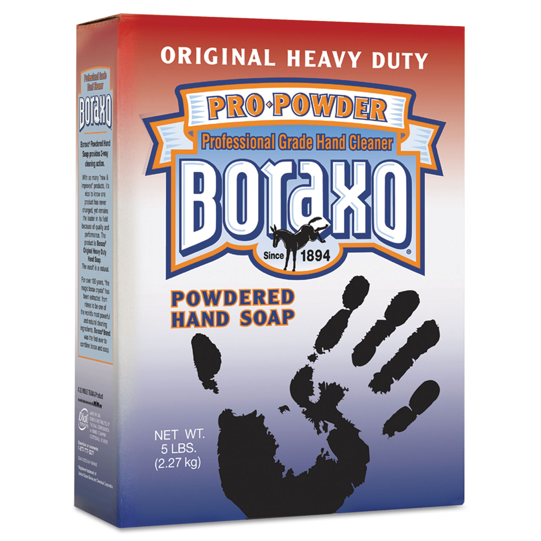 Powdered Original Hand Soap, Unscented Powder, 5lb Box, 10/Carton