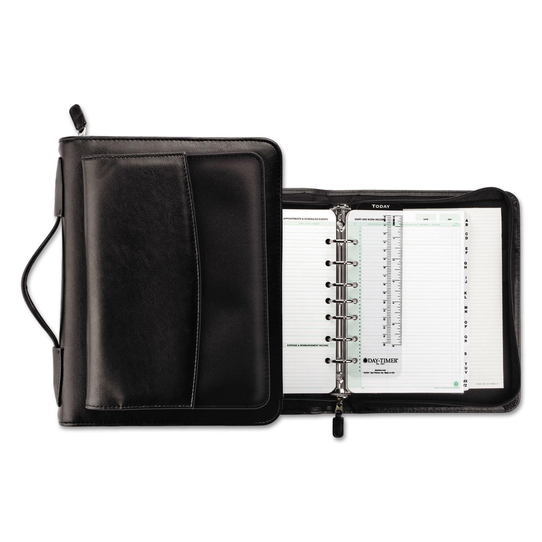 VinylMicrofiber Briefcase Starter Set by DayTimer DTM44531 – Daytimer Planner
