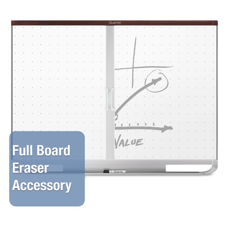 Prestige 2 Magnetic Total Erase Whiteboard, 36 x 24, Mahogany Frame