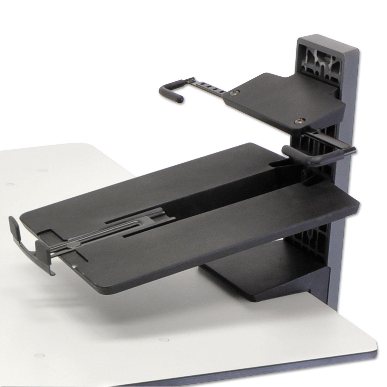 TeachWell MDW Laptop Kit, 9 X 9 1/2 X 7, Gray