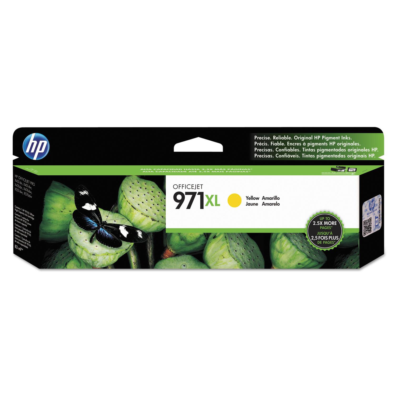 2019 HP 971 Magenta Ink Cartridge CN623AM Genuine OEM
