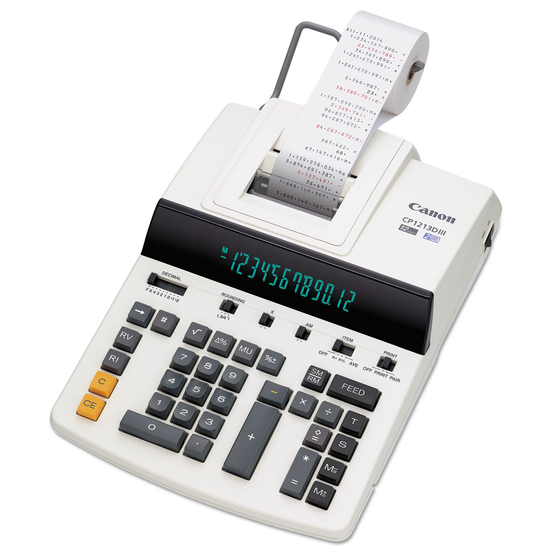 CP1213DIII 12-Digit Heavy-Duty Commercial Desktop Printing