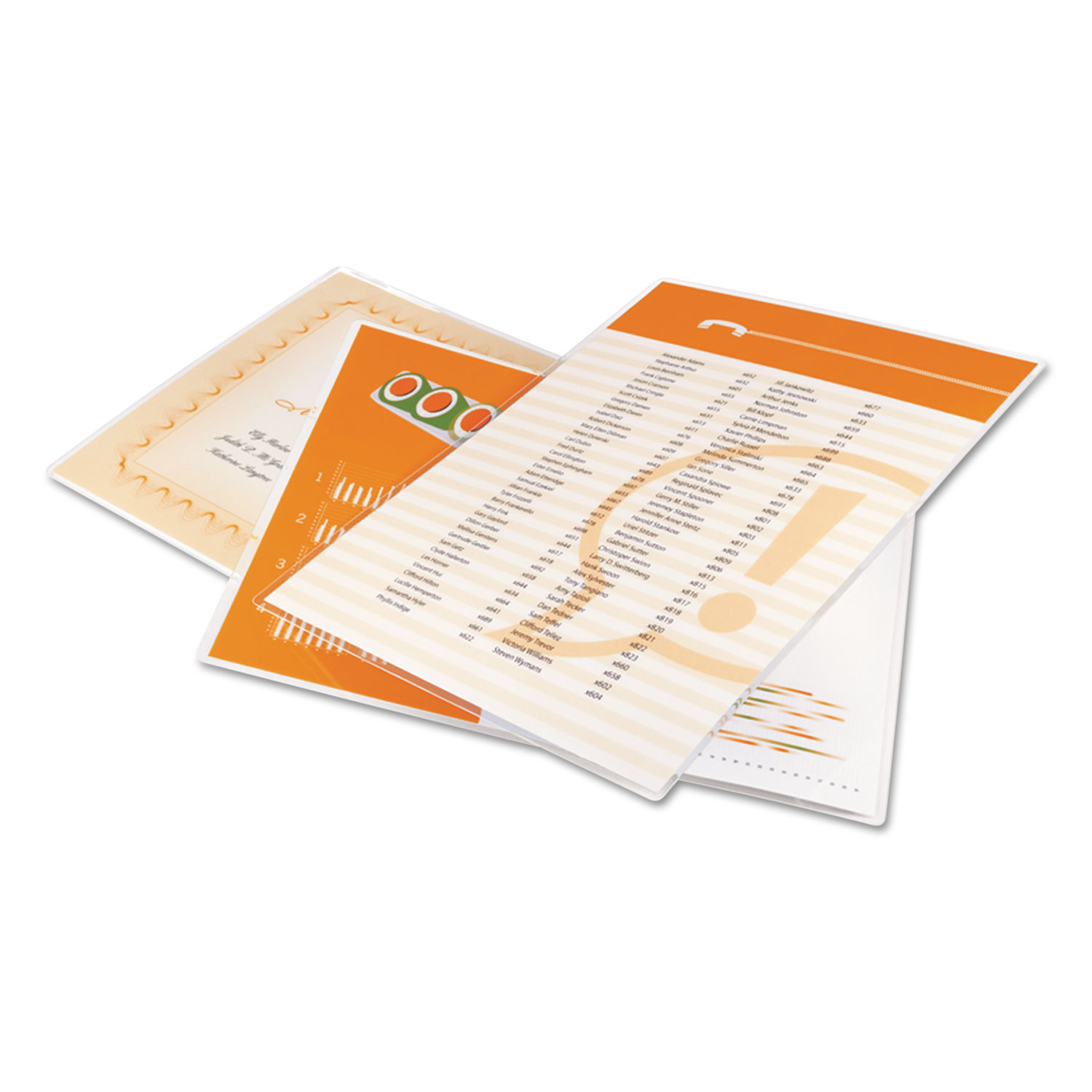 """UltraClear Thermal Laminating Pouches, 3 mil, 9"""" x 11.5"""", Gloss Clear, 100/Pack"""