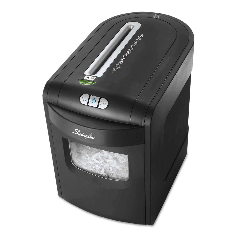 EX10-06 Cross-Cut Jam Free Shredder, 10 Manual Sheet Capacity