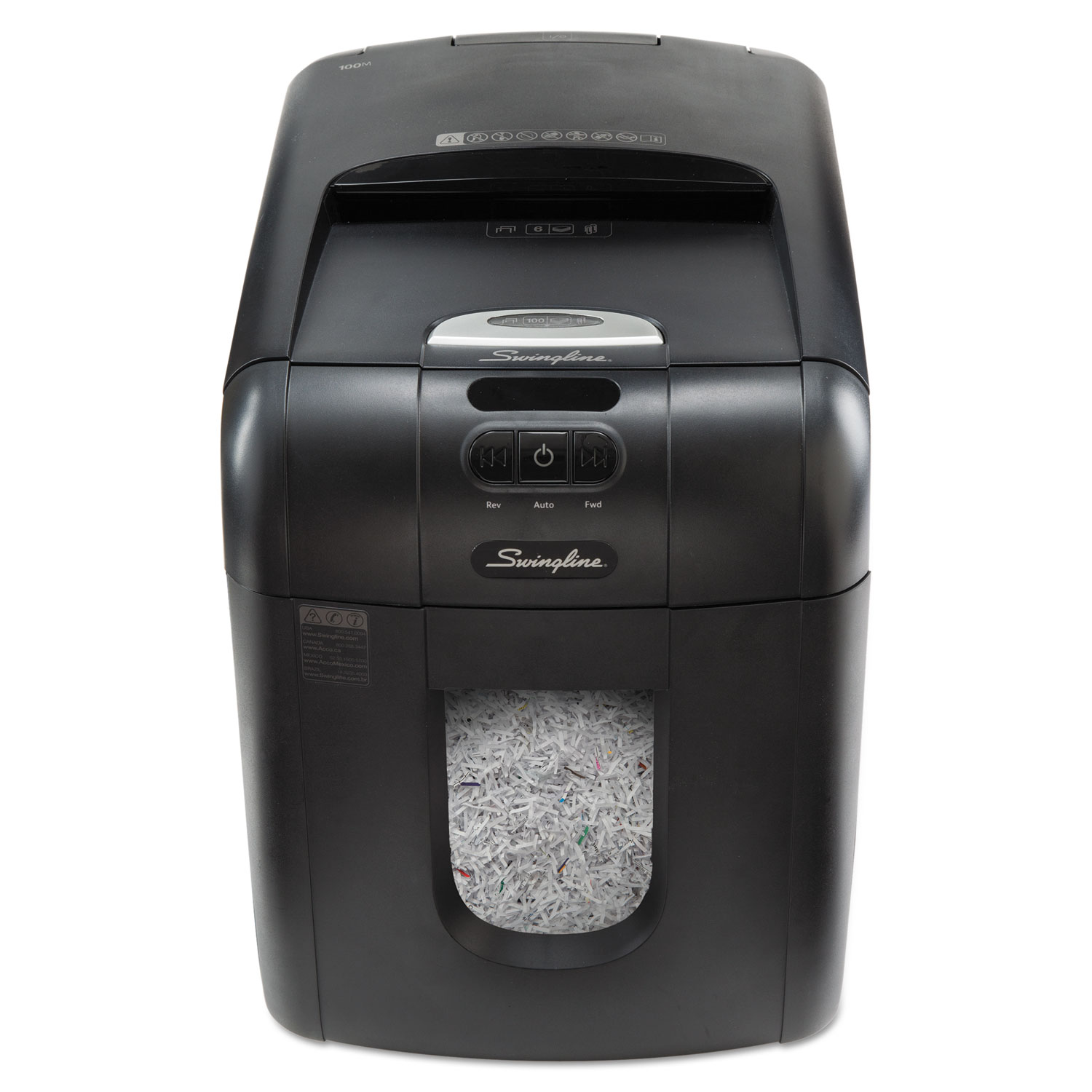 Stack And Shred 130m Auto Feed Micro Cut Shredder By