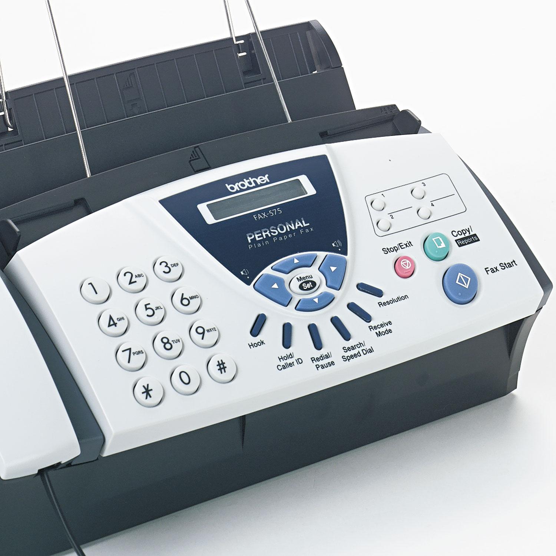 fax 575 personal fax machine by brother brtfax575 ontimesupplies com