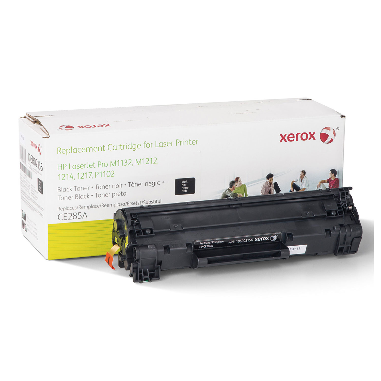 106r02156 Replacement Toner For Ce285a 85a By Xerox Xer106r02156 Compatible Cartridge Printer P1102 Laserjet Thumbnail 1