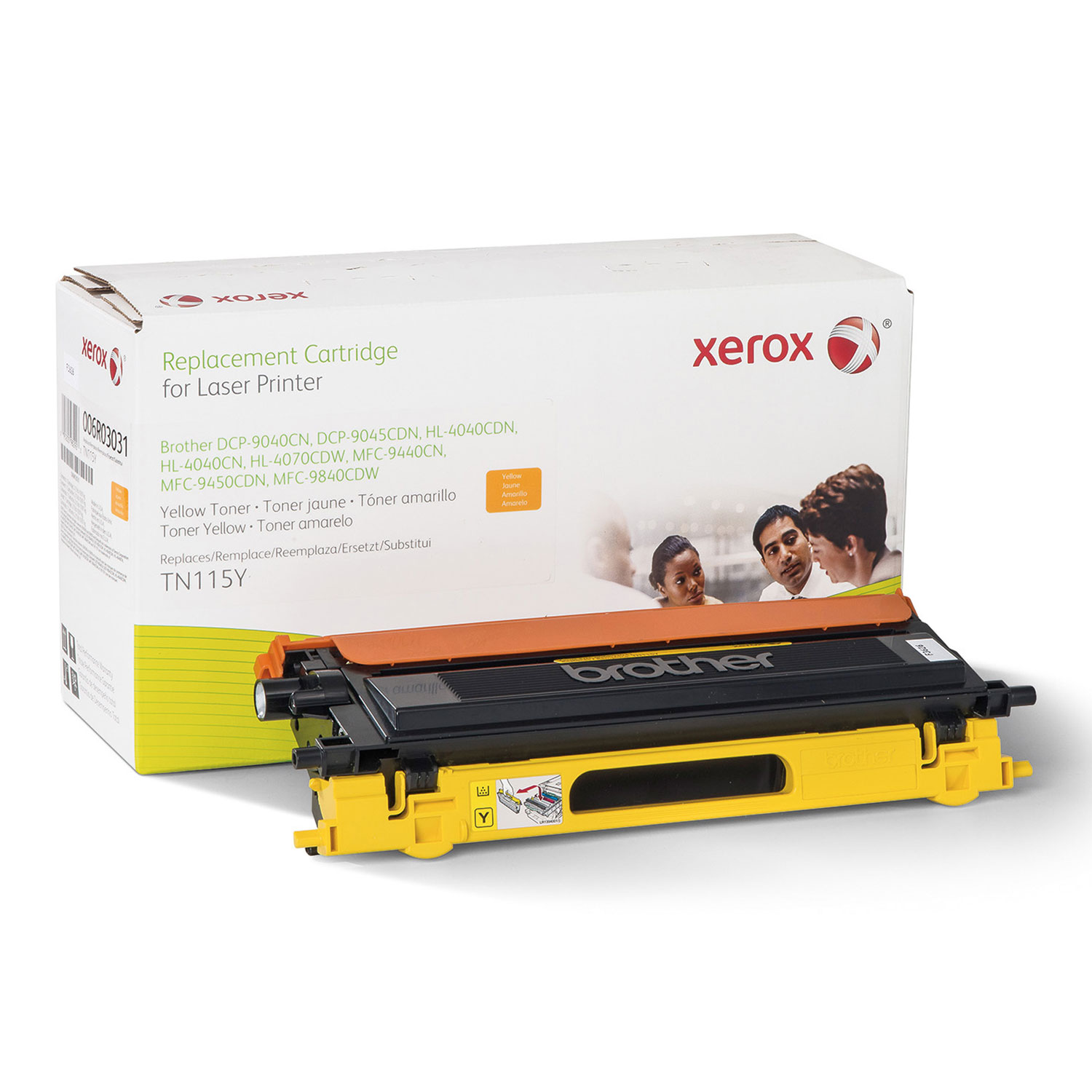 006R03031 Remanufactured TN115Y High-Yield Toner, Yellow