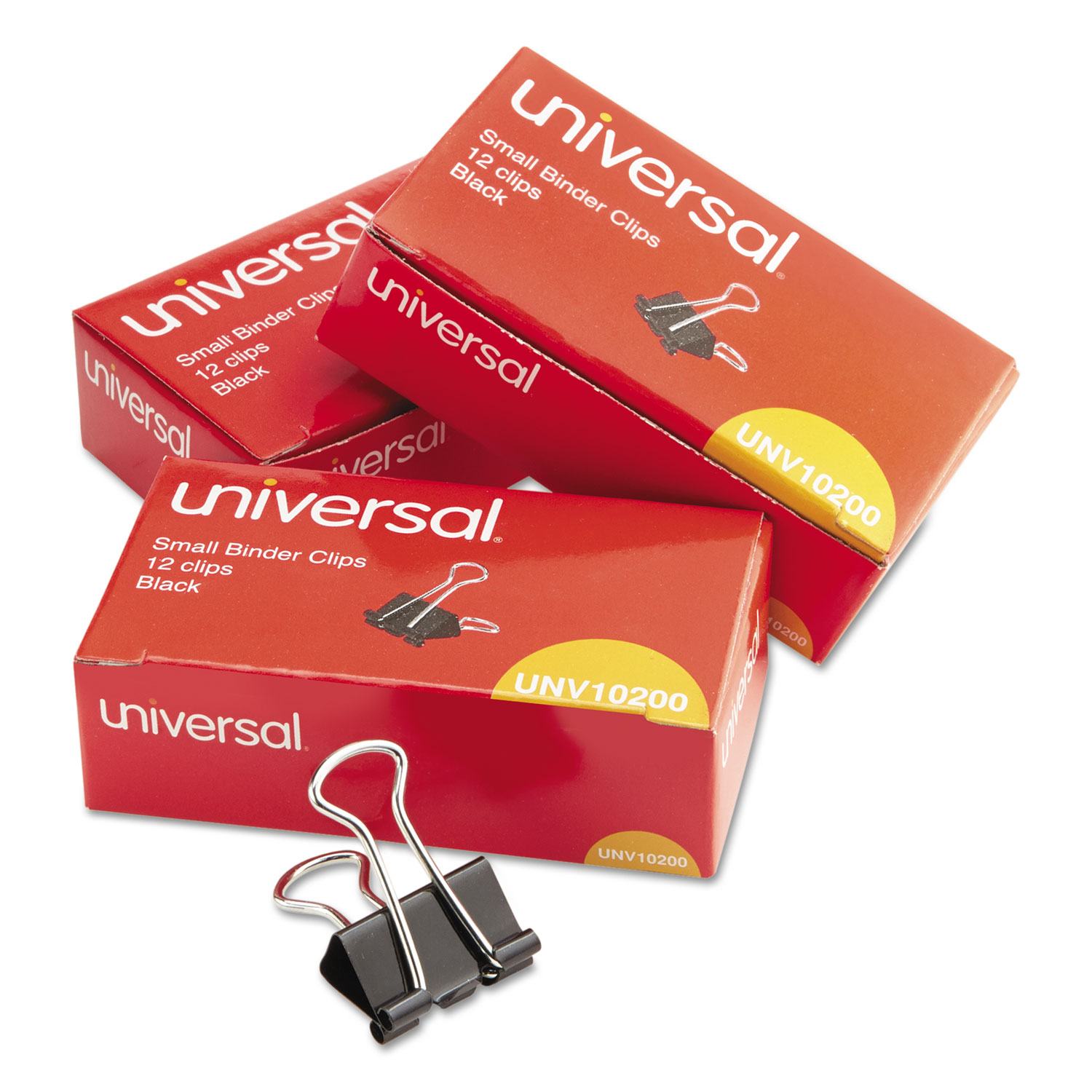 Small Binder Clips By Universal® UNV10200VP3
