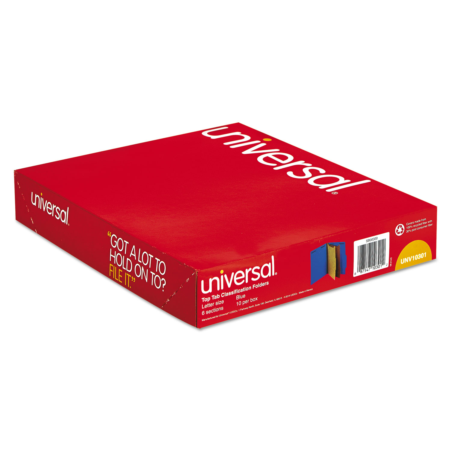 UNV10301 | Universal 10301, FREE Shipping - ACT Supplies | UNV10301