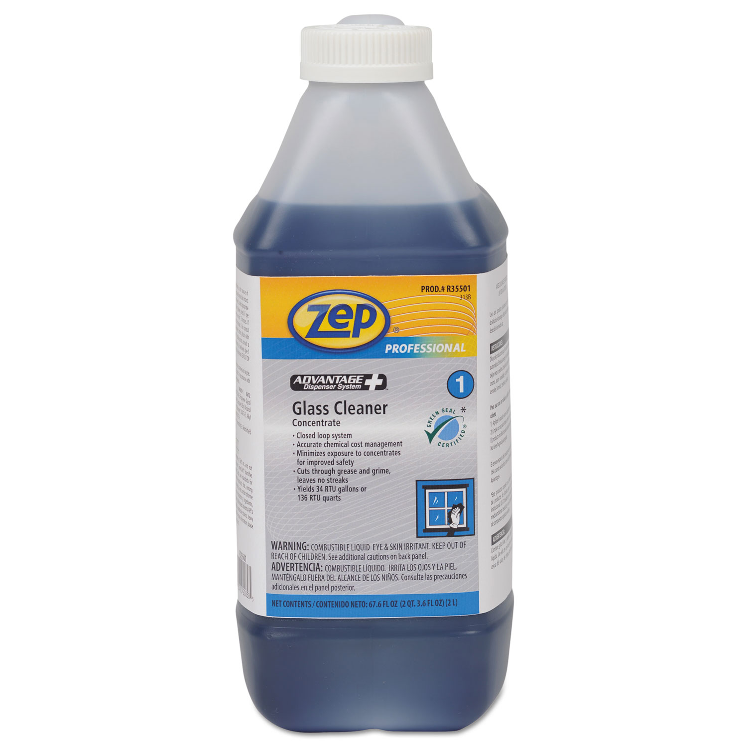 Zep concentrated glass cleaner msds for Sanivac concentrate bathroom cleaner and lime remover
