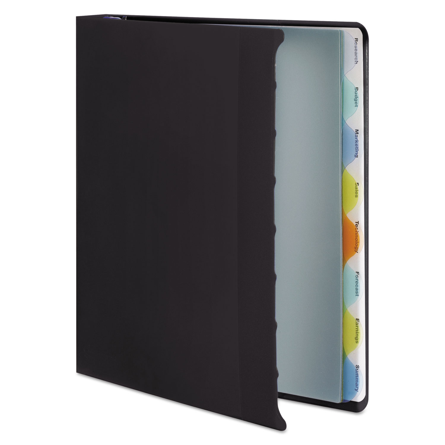 View-Tab Presentation Round Ring View Binder W/Tabs By