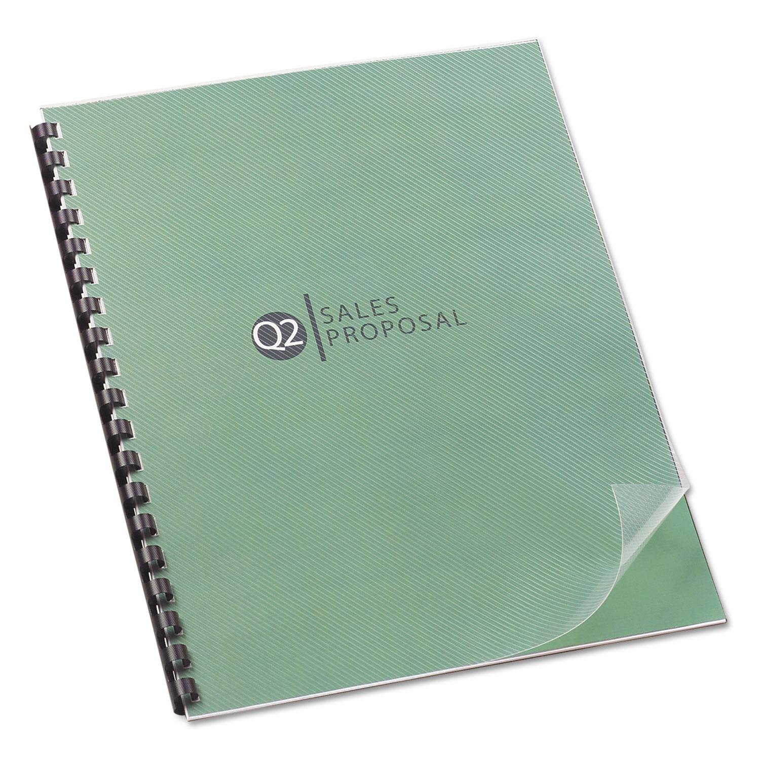 Design View Presentation Binding System Covers, 11 x 8 1/2, Clear, 25/Pack