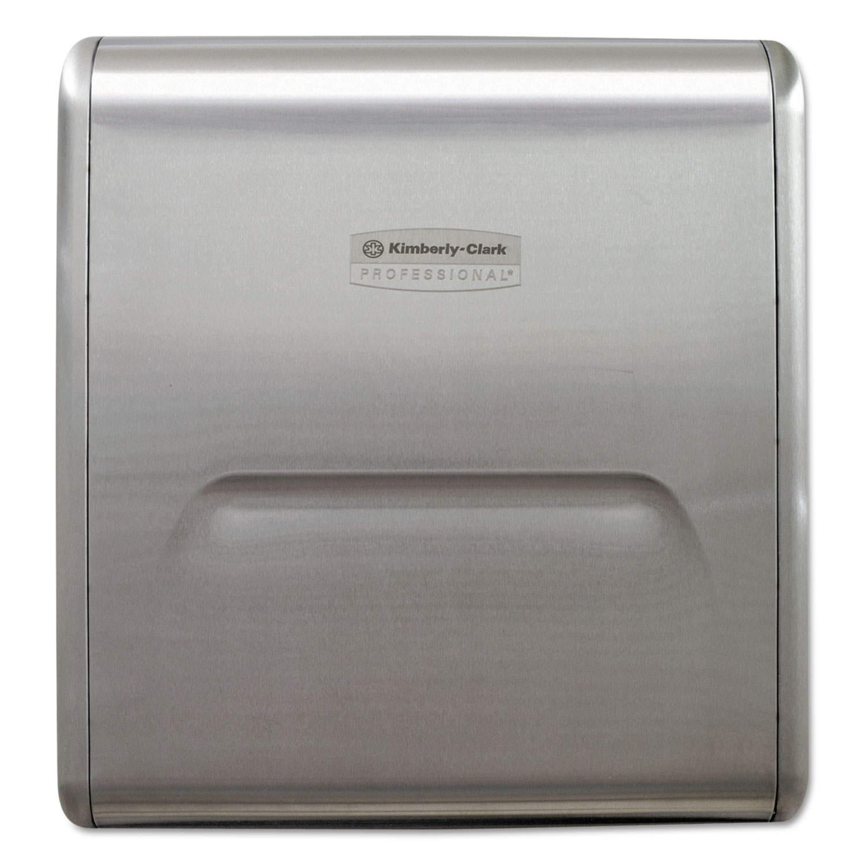 MOD Recessed Dispenser Narrow Housing, Stainless Steel, 10 3/4 x 4 x 15.37