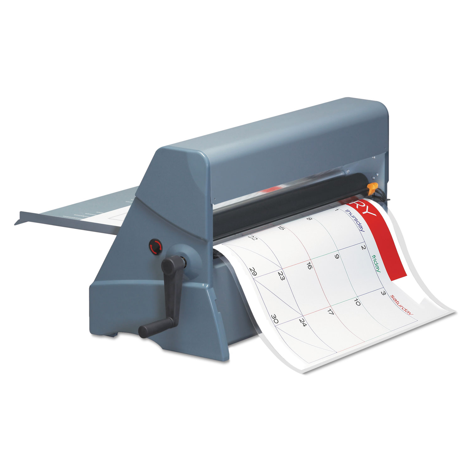 "Heat-Free 25"" Laminating Machine, 25"" Max Document Width, 8.6 mil Max Document Thickness"