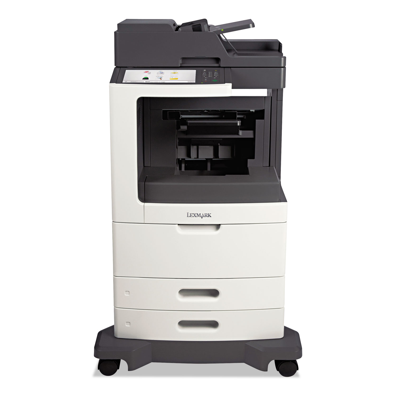 MX811dfe Multifunction Laser Printer, Copy/Fax/Print/Scan