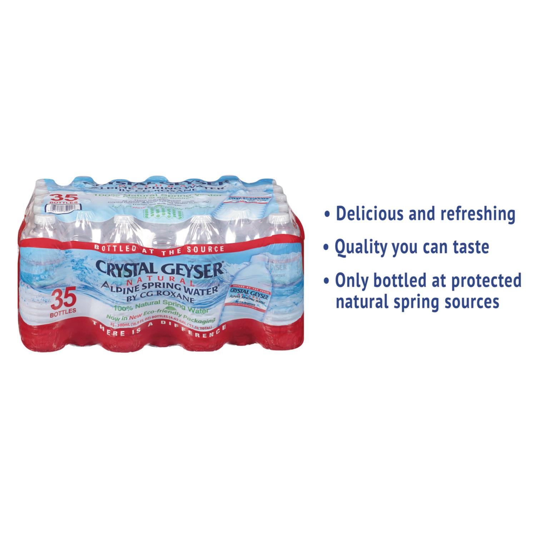 Alpine Spring Water, 16.9 oz Bottle, 35/Case