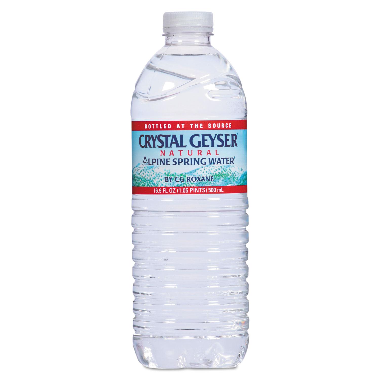 Alpine Spring Water by Crystal Geyser® CGW24514 ...