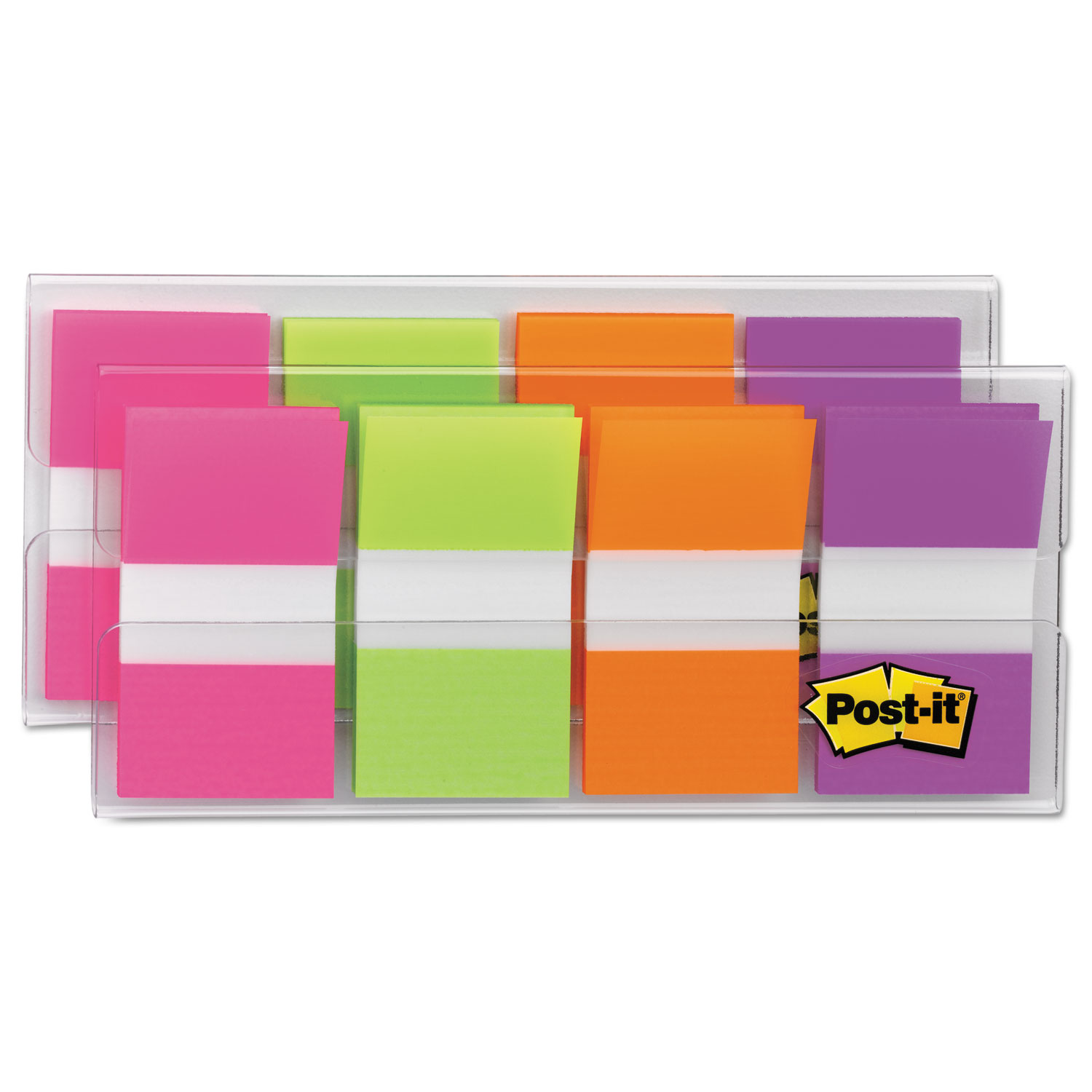 Page Flags in Portable Dispenser, Bright, 160 Flags/Dispenser