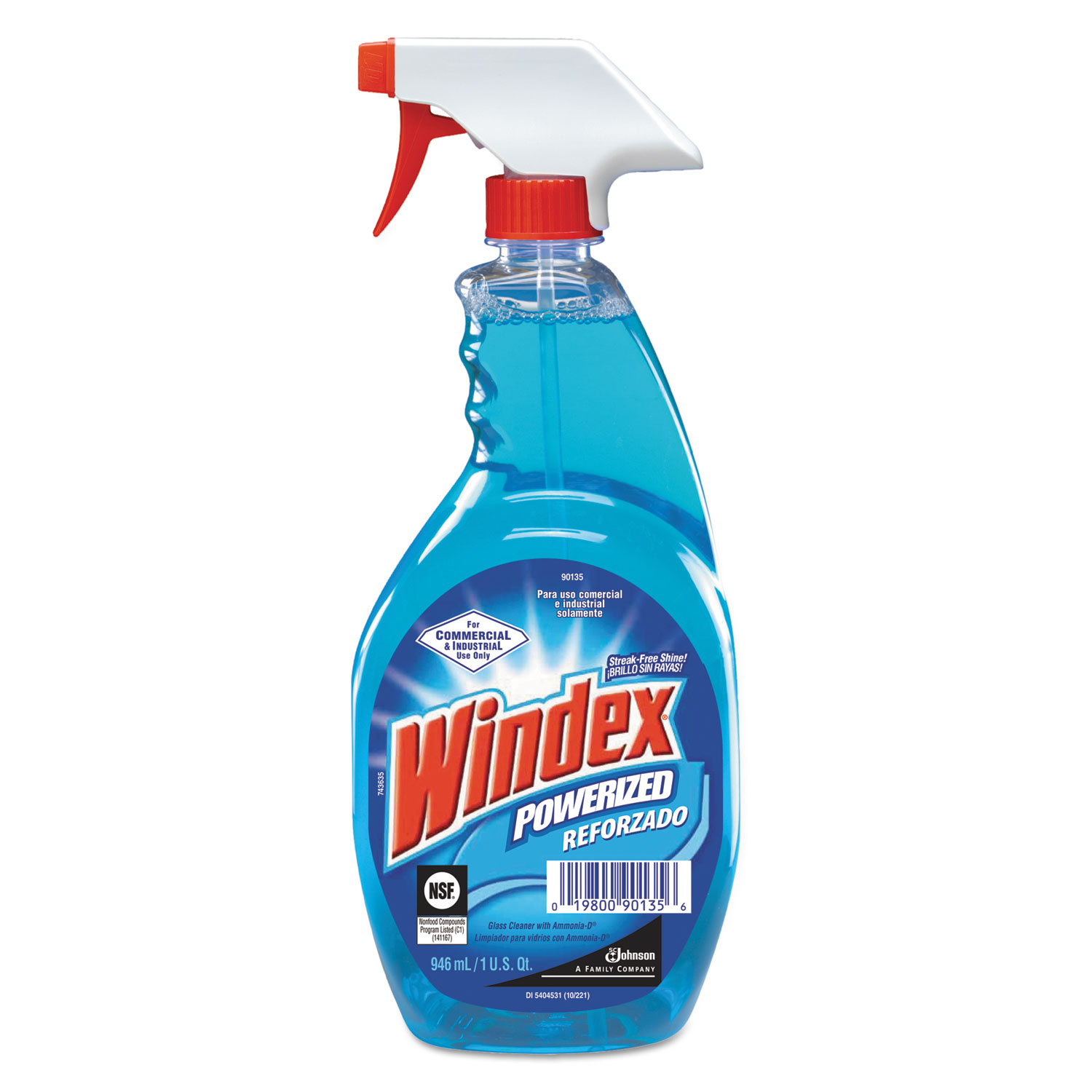 Windex Original Glass Cleaner With Ammonia D Msds 2017