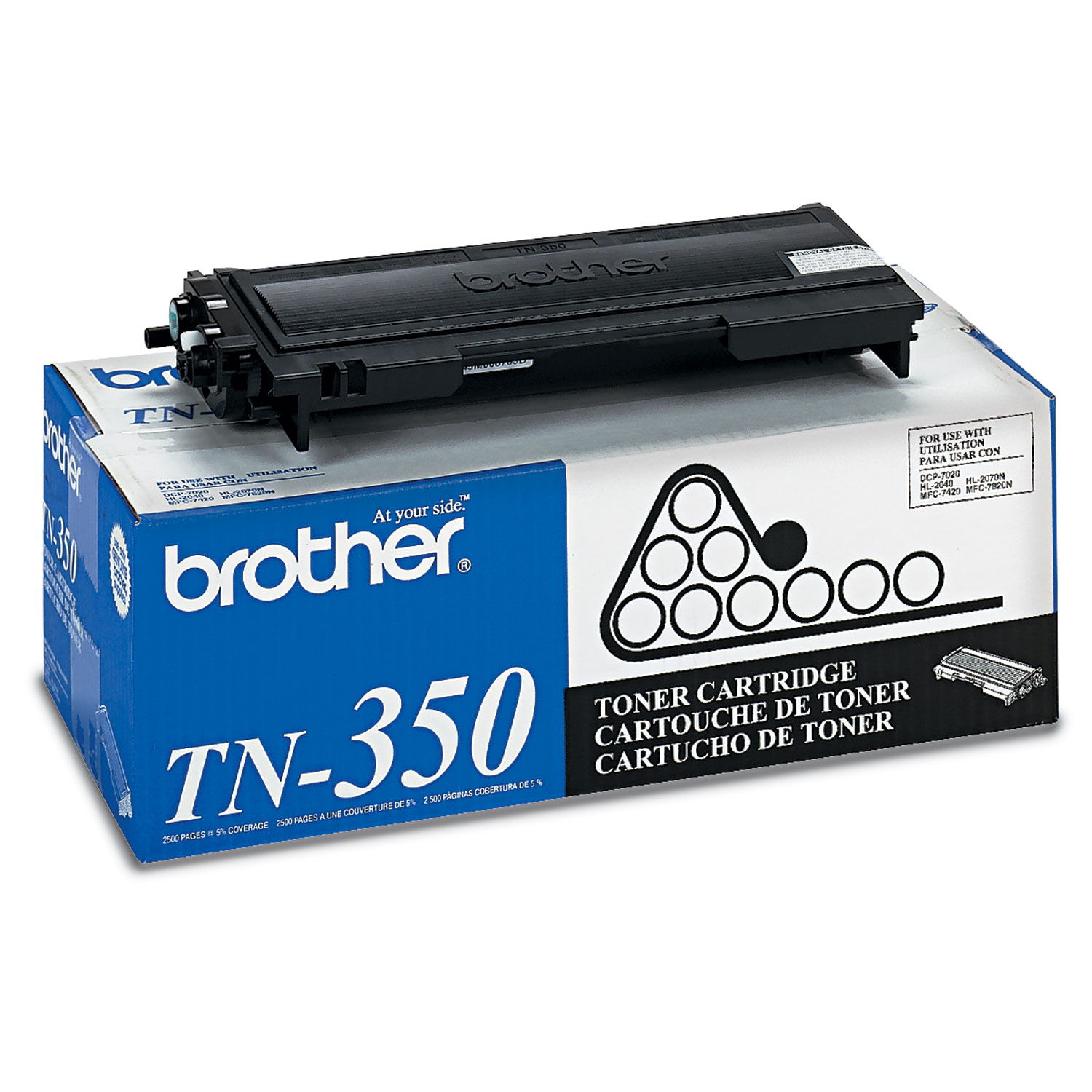 TN350 Toner, Black