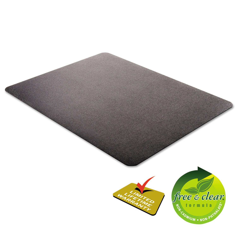 Economat Anytime Use Chair Mat For Hard Floor 45 X 53 Black