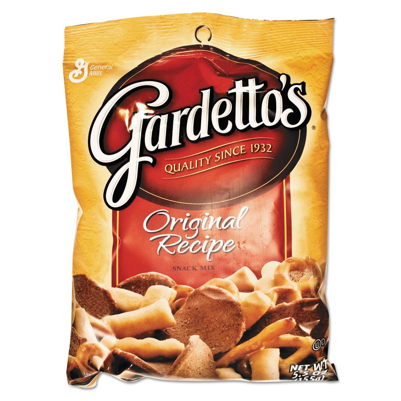 Gardetto's Snack Mix, Original Flavor, 5.5 oz Bag, 7/Box