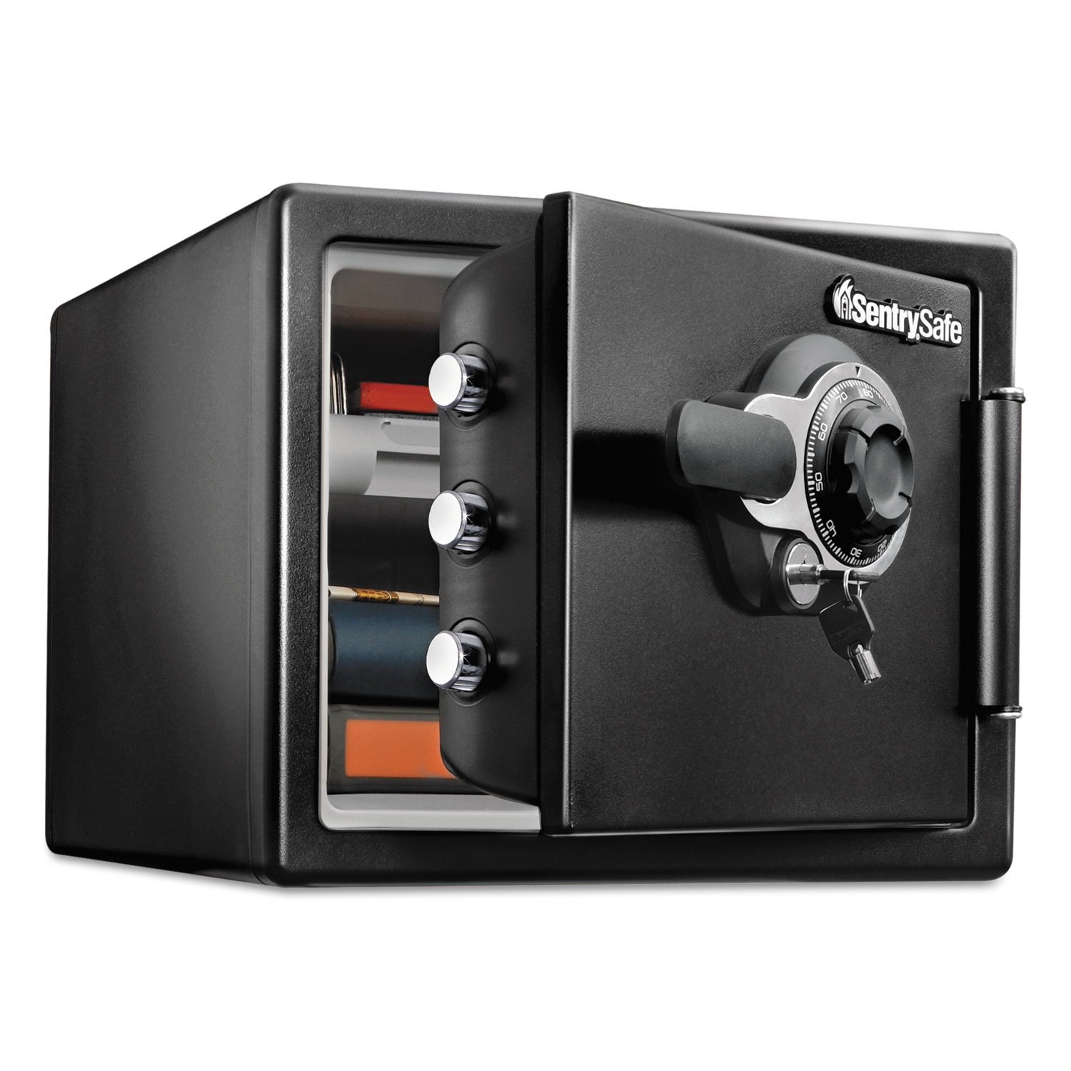 Fire Safe With Tubular Key And Combination Access 0 8 Cu Ft