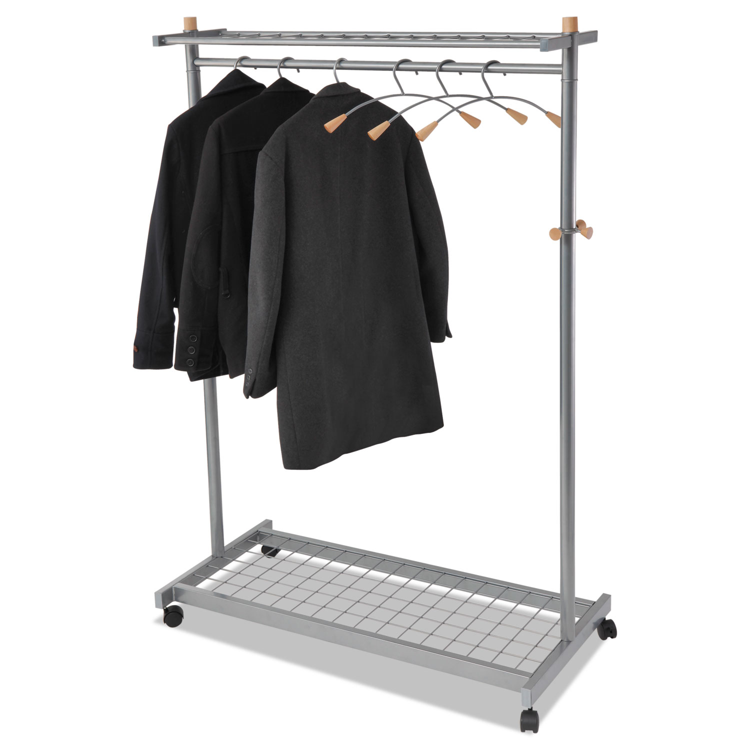 Grid Coat Rack In Office Accessories: Garment Racks By Alba™ ABAPMLUX6
