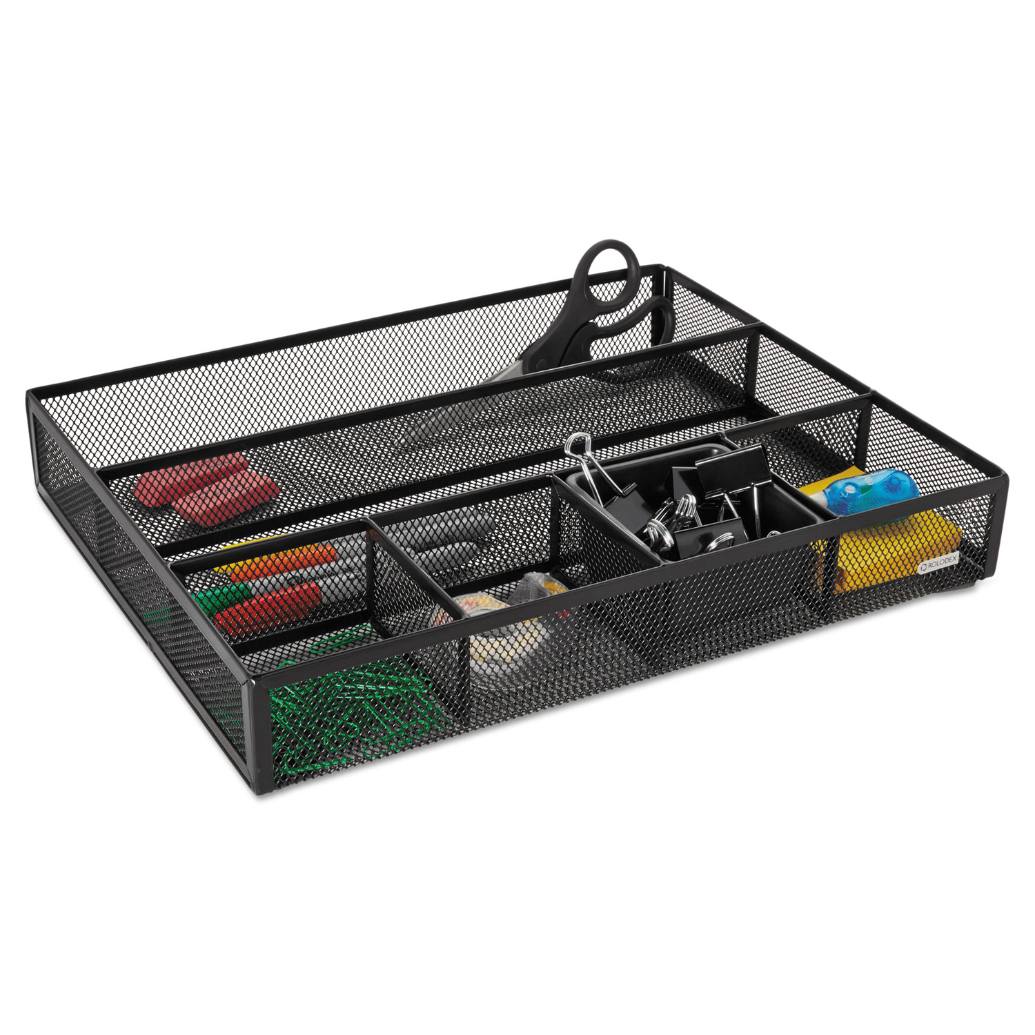 Rol22131 Rolodex Deep Desk Drawer Organizer Zuma