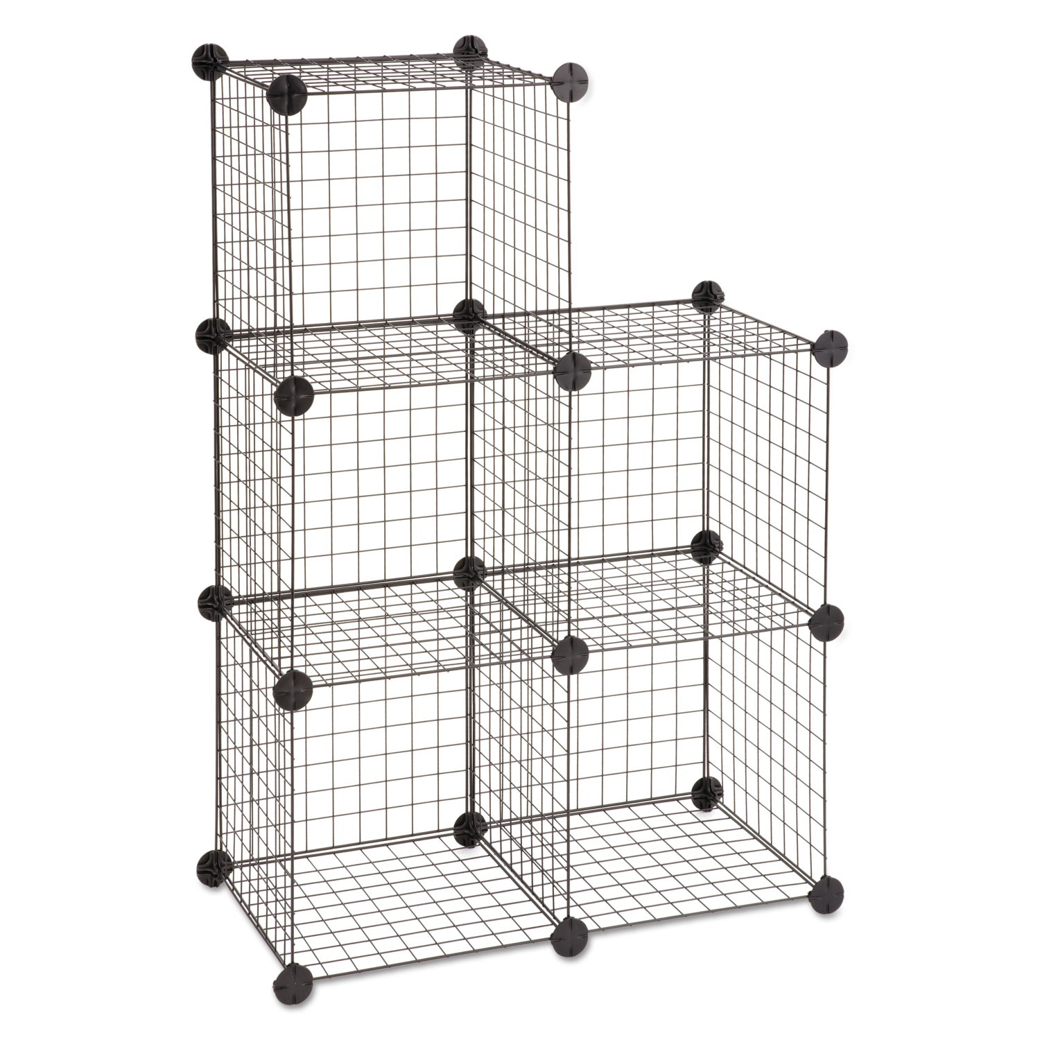 Wire Cube Shelving System by Safco® SAF5279BL - OnTimeSupplies.com