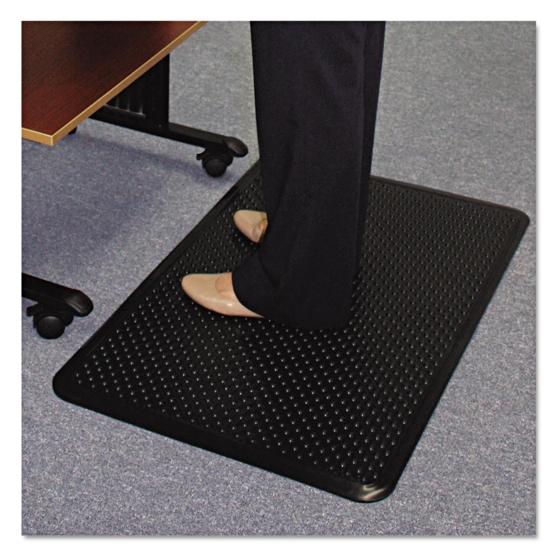double p rhino mats soft floor sponge x kitchen vinyl woods anti floors fatigue walnut in indoor mat rugs