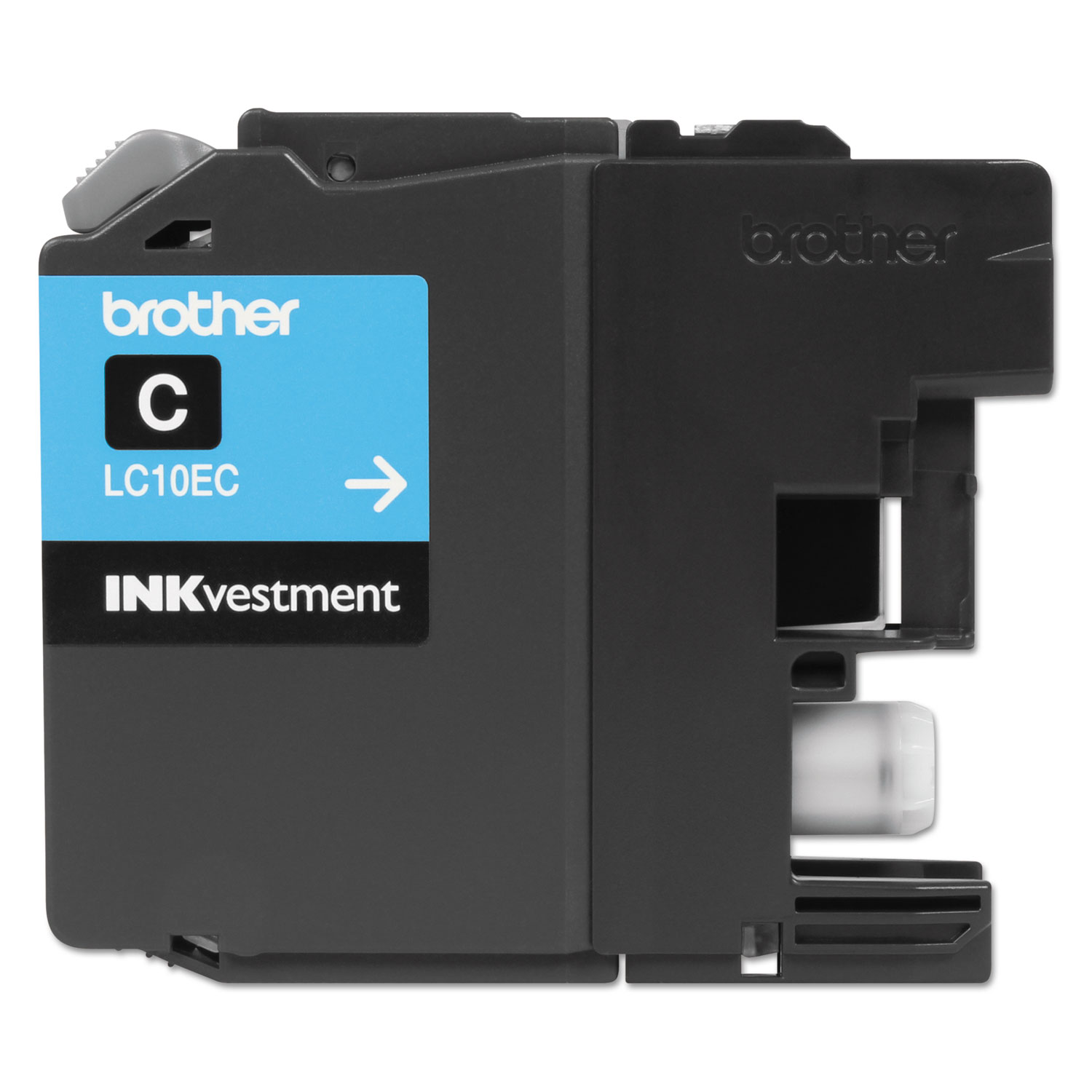 LC10EC INKvestment Super High-Yield Ink, 1200 Page-Yield, Cyan