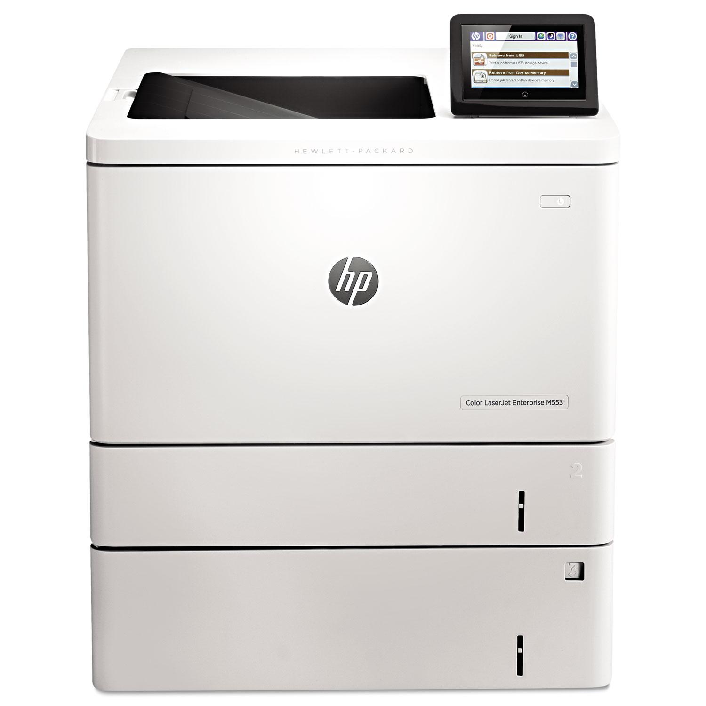 Color LaserJet Enterprise M553X Laser Printer