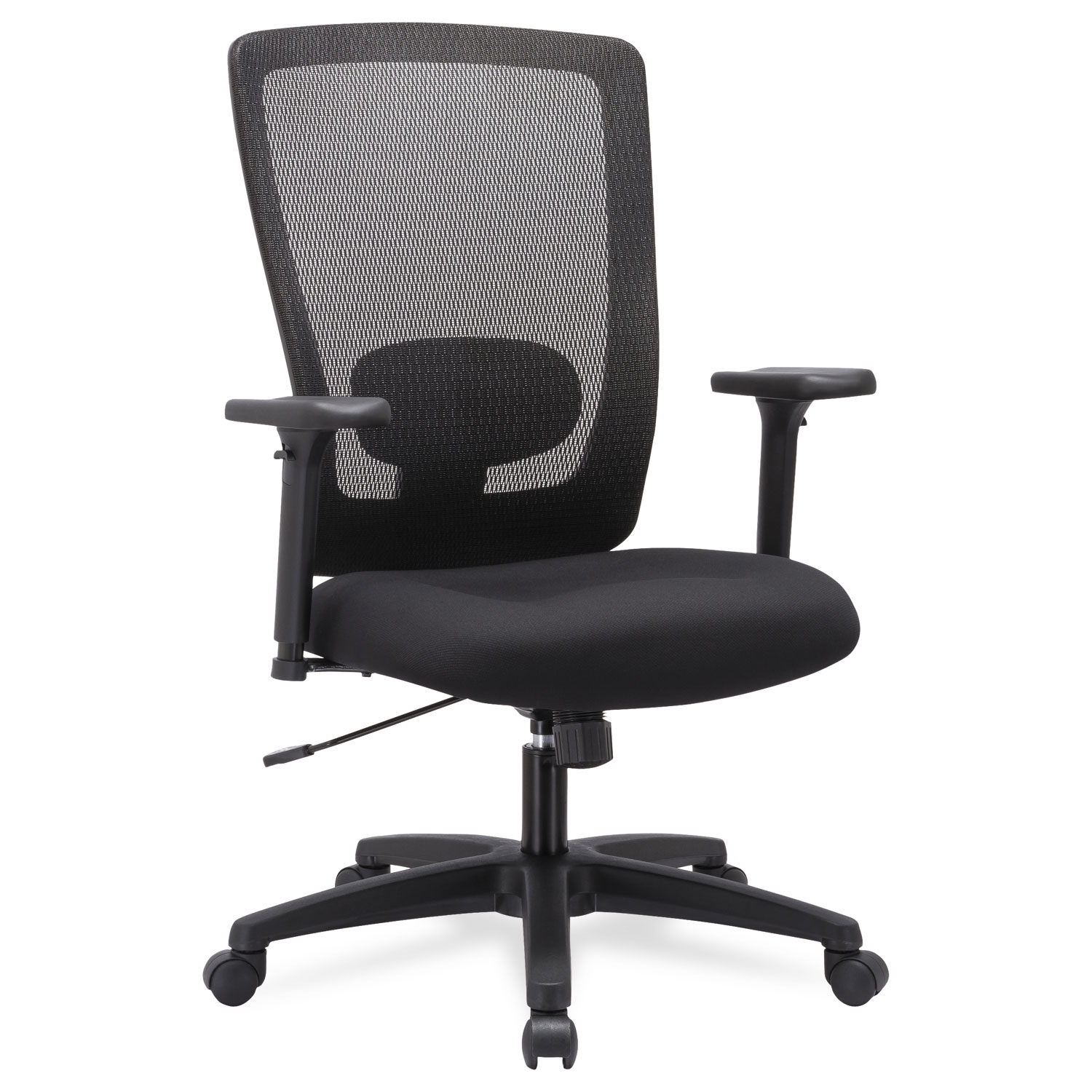Awe Inspiring Alera Envy Series Mesh High Back Swivel Tilt Chair Supports Up To 250 Lbs Black Seat Black Back Black Base Dailytribune Chair Design For Home Dailytribuneorg