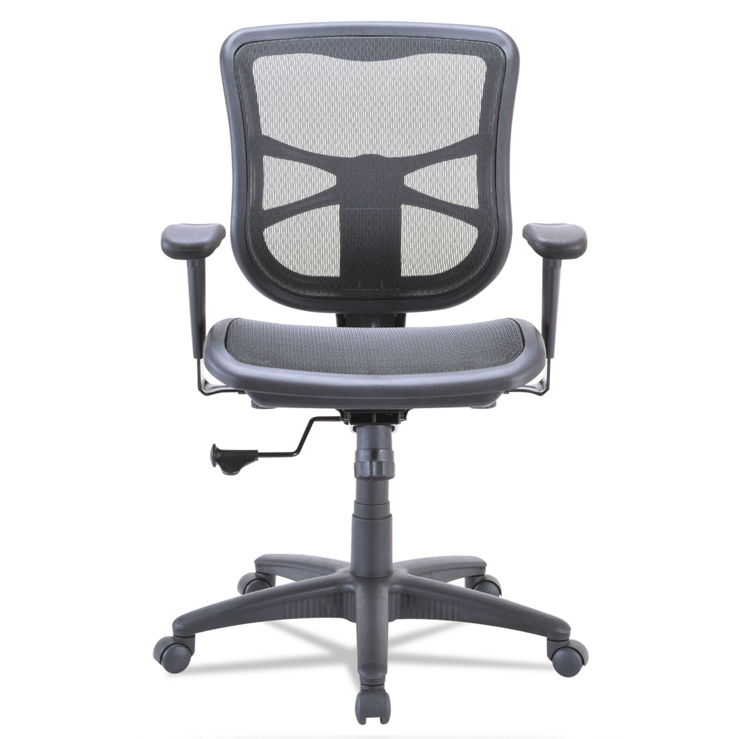 Alera Elusion Series Air Mesh Mid Back Swivel Tilt Chair by Alera