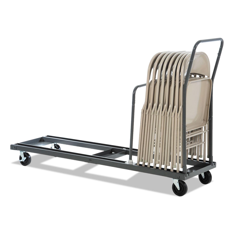 ALEFTCART Folding Table Cart by Alera