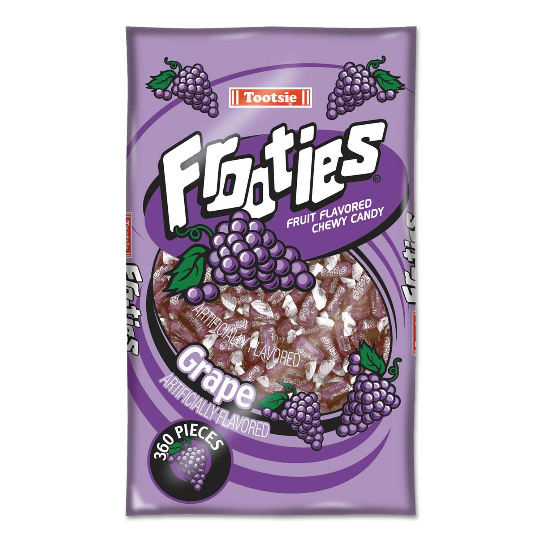 Frooties, Grape, 38.8oz Bag, 360 Pieces/Bag