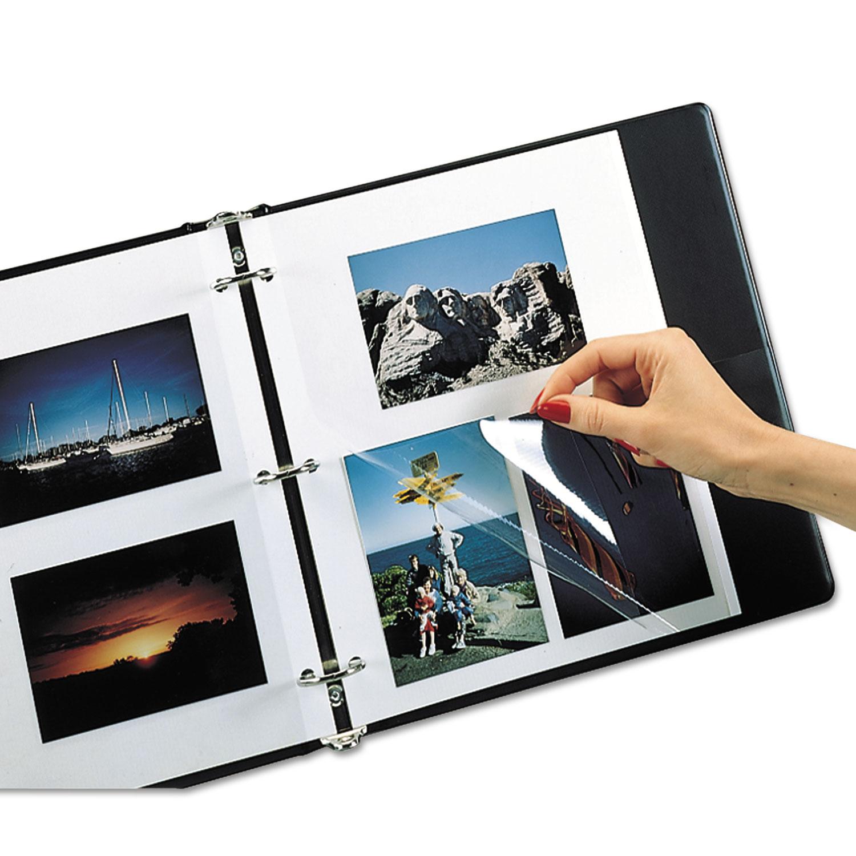 Redi-Mount Photo-Mounting Sheets, 11 x 9, 50/Box