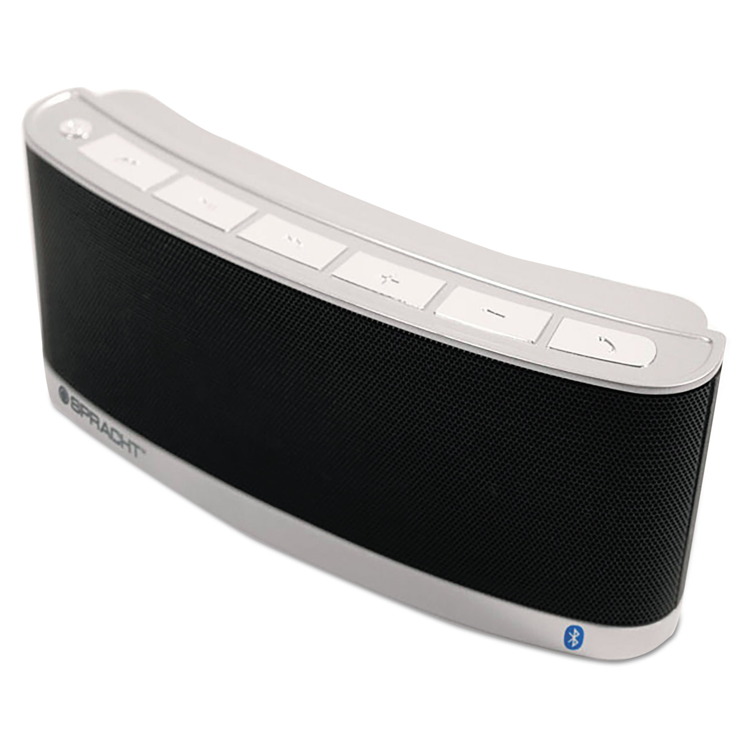 Blunote 2 Portable Wireless Bluetooth Speaker, Black/Silver