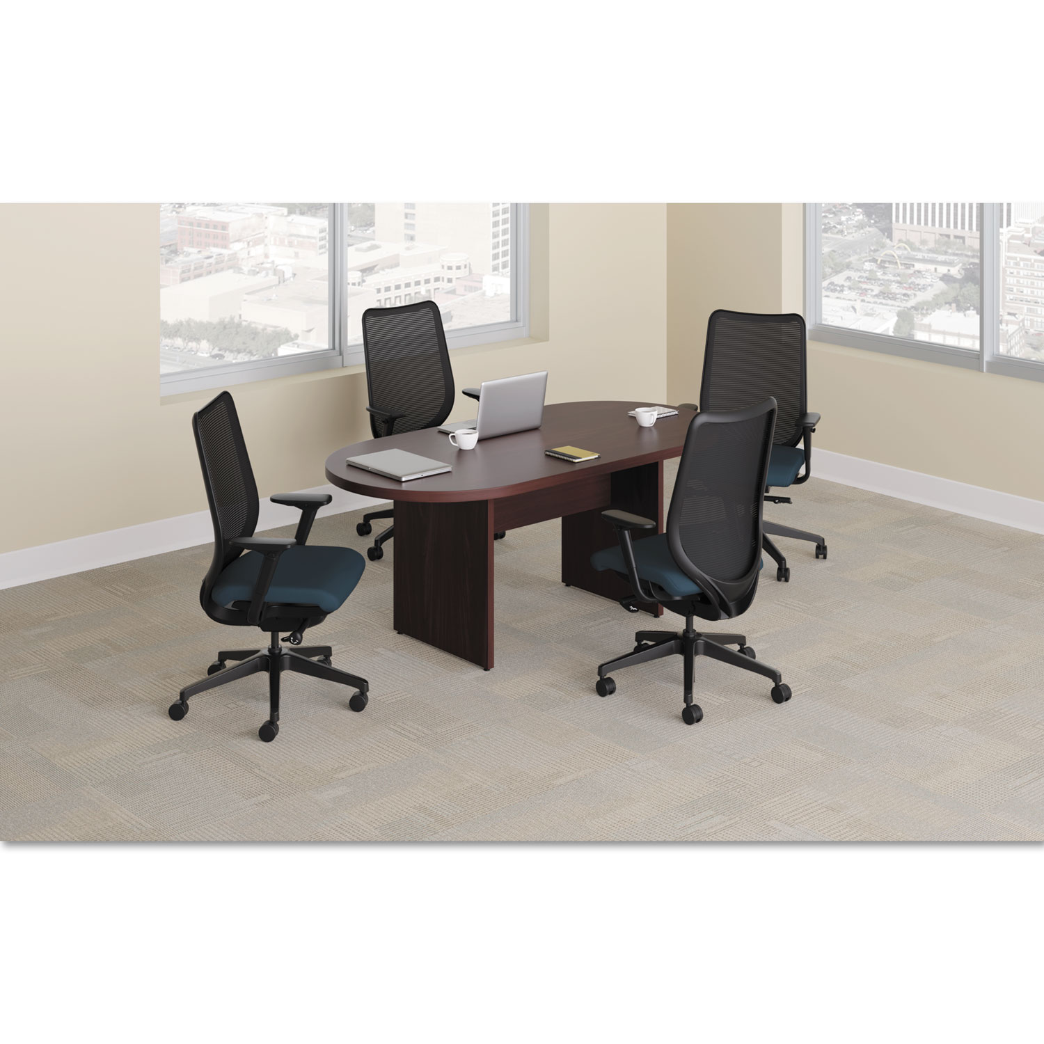 Get Preside Racetrack Conference Table Top And Other Office Tables - Hon racetrack conference table