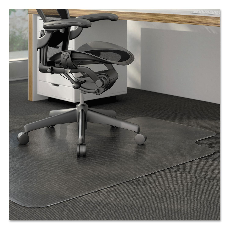 studded chair mat for low pile carpet by aleraa alemat4553clpr