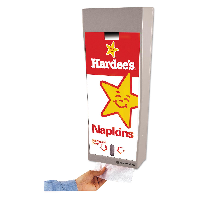 Mega Cartridge Napkin System Dispenser, 8 3/4 x 6 3/8 x 23 1/4, Gray