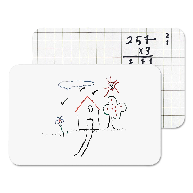 Dry Erase Lap Board, 11 7/8 x 8 14, Frameless