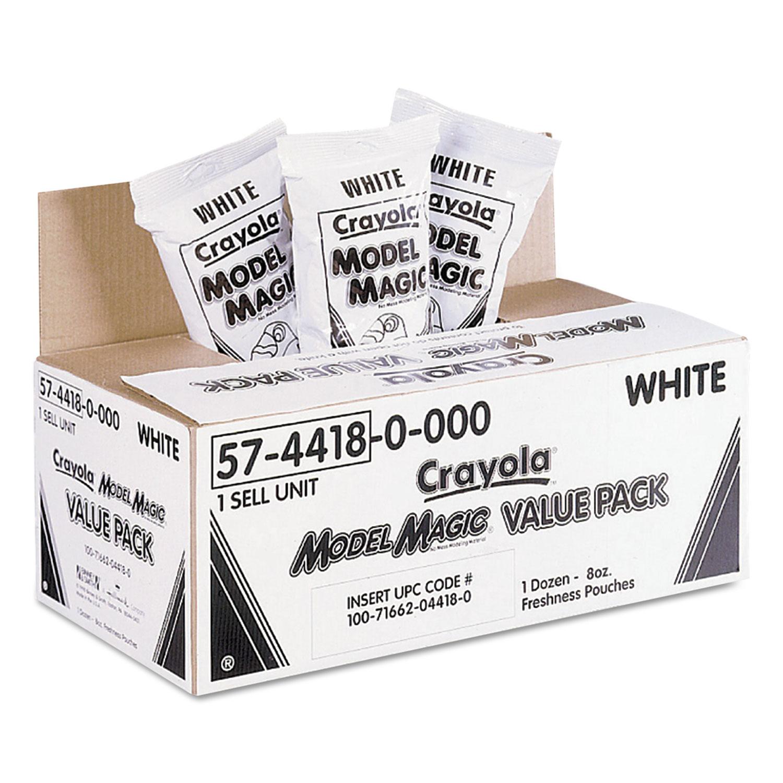 Model Magic Modeling Compound, 8 oz, White, 6 lbs.