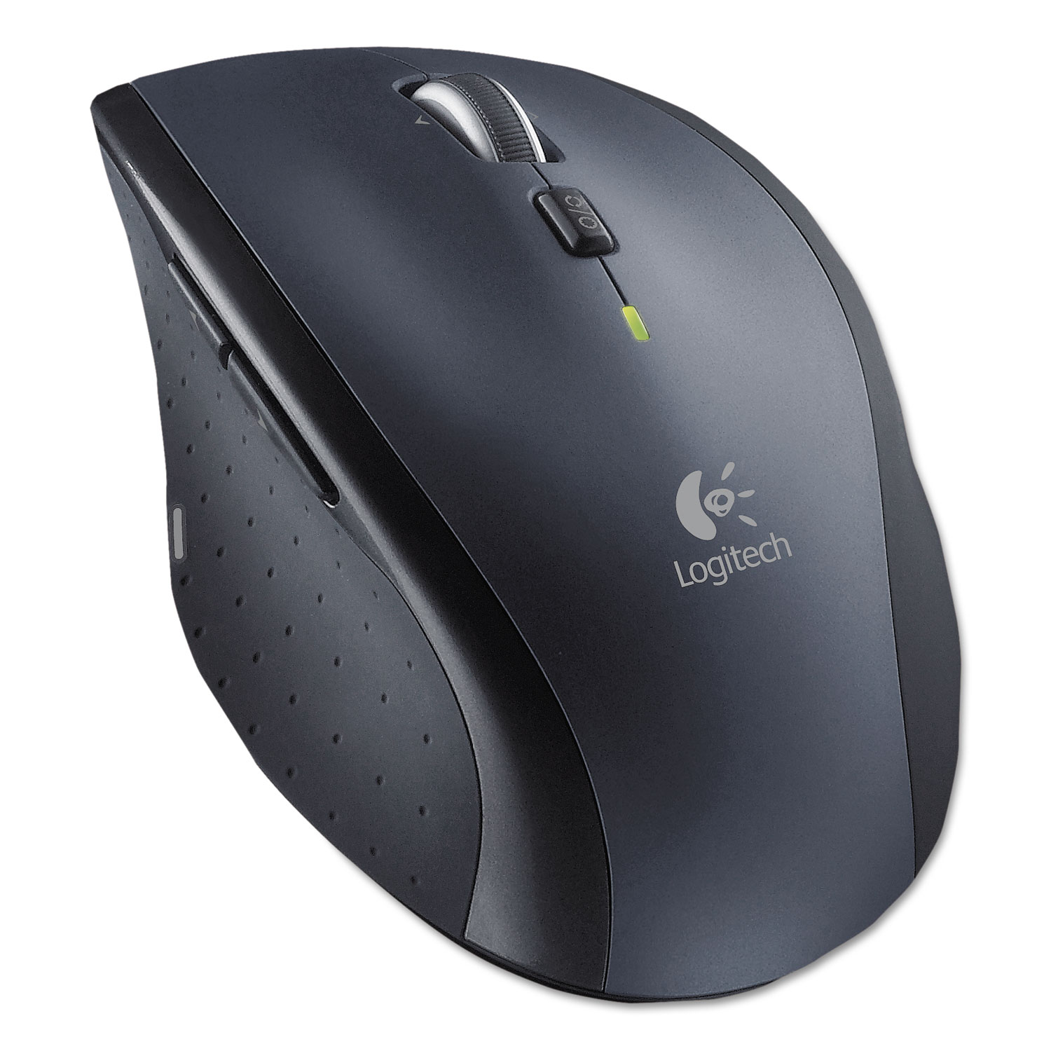 M705 Marathon Wireless Laser Mouse, 2.4 GHz Frequency/30 ft Wireless Range, Right Hand Use, Black