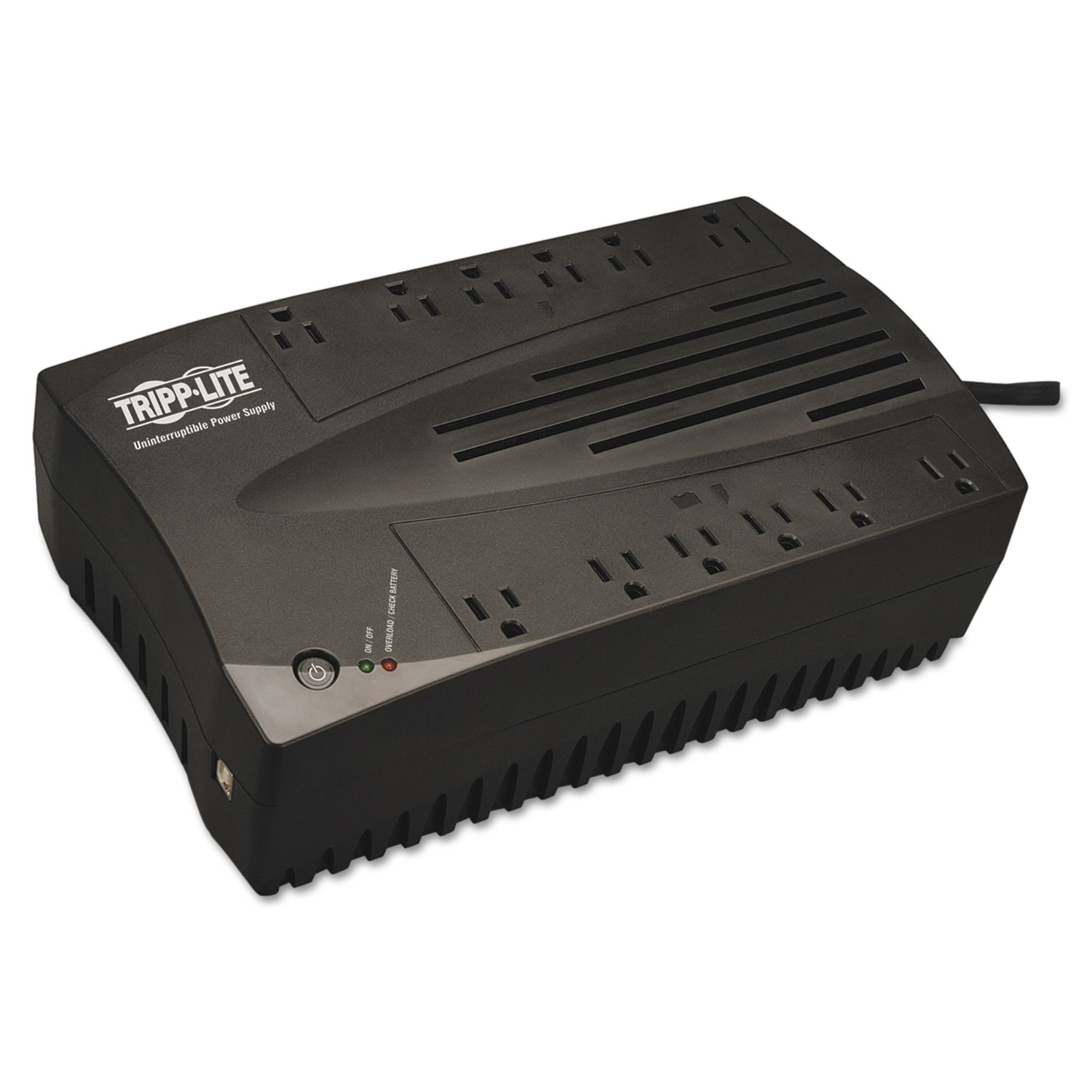 AVR Series Ultra-Compact Line-Interactive UPS, USB, 12 Outlets, 900 VA, 420 J